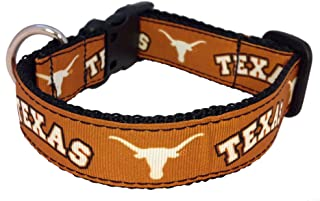 product image for NCAA Texas Longhorns Dog Collar (Team Color, Large)