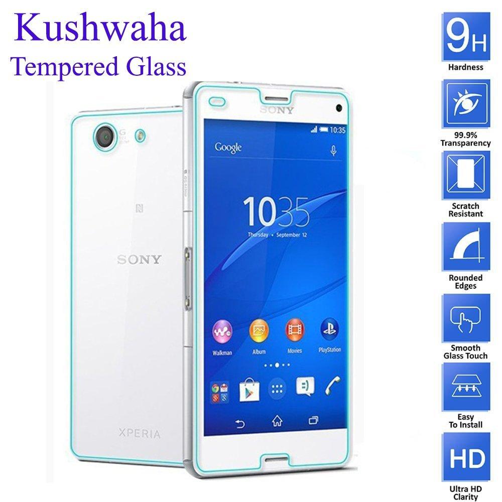 Kushwaha Front Back Tempered Glass Screen Electronics Imak Crystal Case 1st Series Sony Xperia M4 Aqua Hardcase Transparant