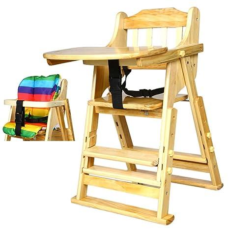 Trona Bebe Silla Alta Baby Simple Fold Plus con Bandeja y ...