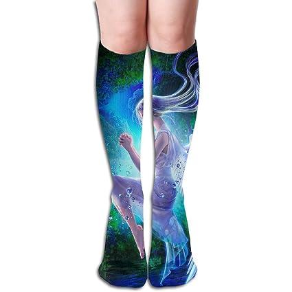 f36e6b37af Amazon.com: MEILOP Unisex White Sexy Pegasus Fairy Compression Socks-Graduated  Compression Knee High Legging Socks: Garden & Outdoor