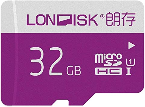 LONDISK 32GB SD Card Micro SD Card U1 Class 10 Memory Card with Free Adapter (U1 32GB)