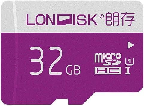 LONDISK 32GB SD Card Micro SD Card U1 Class 10 Memory Card with Free Adapter (U1 32GB)