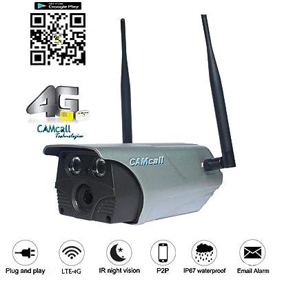 Buy Camcall 3G/4G Sim Card and Wifi Security CCTV Camera with IR Cut