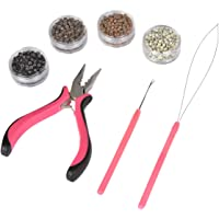 Deals on Micro Links Hair Extension Kit Tool with a Loop Hook