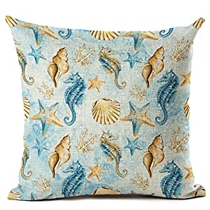 61AGj9OKe6L._SS300_ 100+ Coastal Throw Pillows & Beach Throw Pillows