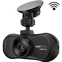 Vantrue X3 WIFI Dash Cam, Super HD 2.5K Car Dashboard Camera 1440P Car Camera with Ambarella A12 Chipset, 170°Wide Angle, Super HDR Night Vision, Loop Recording, Parking Mode, Motion Detection