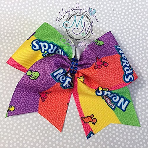 Candy nerds inspired Hair bow, Handmade for toddlers, girls, tween, teens, and women outfit of choice -