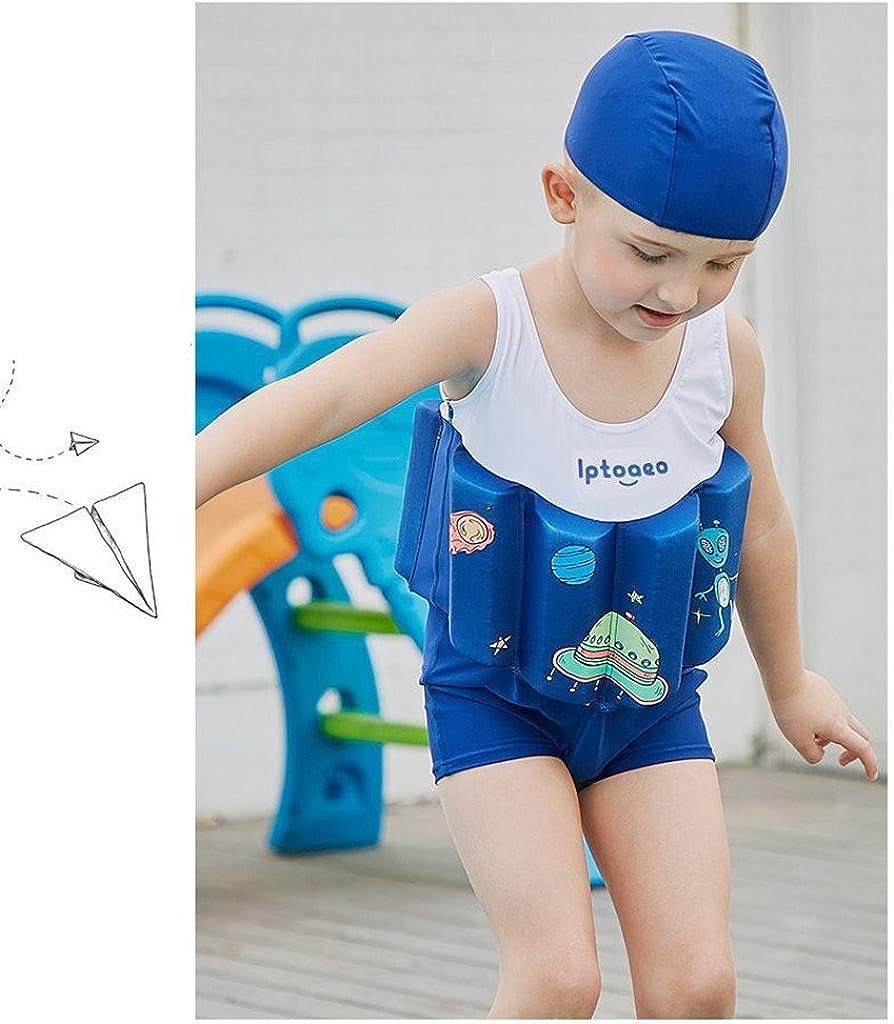 Gogokids Boys Float Suit Floating Swimwear Kids One Piece Buoyancy Swimsuit Baby Sleeveless Swimming Costume Swim Training