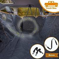 iBuddy Dog Car Seat Covers for Back Seat Cars/Trucks/SUV, Waterproof Dog Car Hammock…