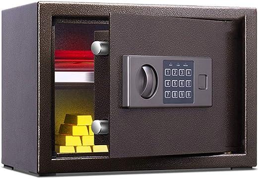 Caja fuerte Caja de Seguridad Digital Fuego de casa Seguro Oficina ...