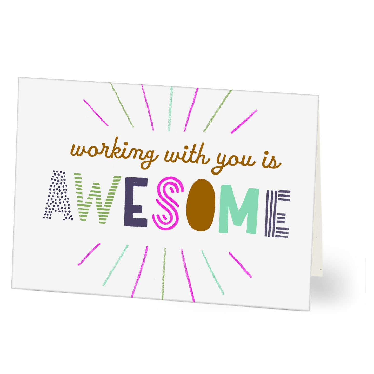 Amazon Hallmark Work Anniversary Card Awesome Pack Of 25