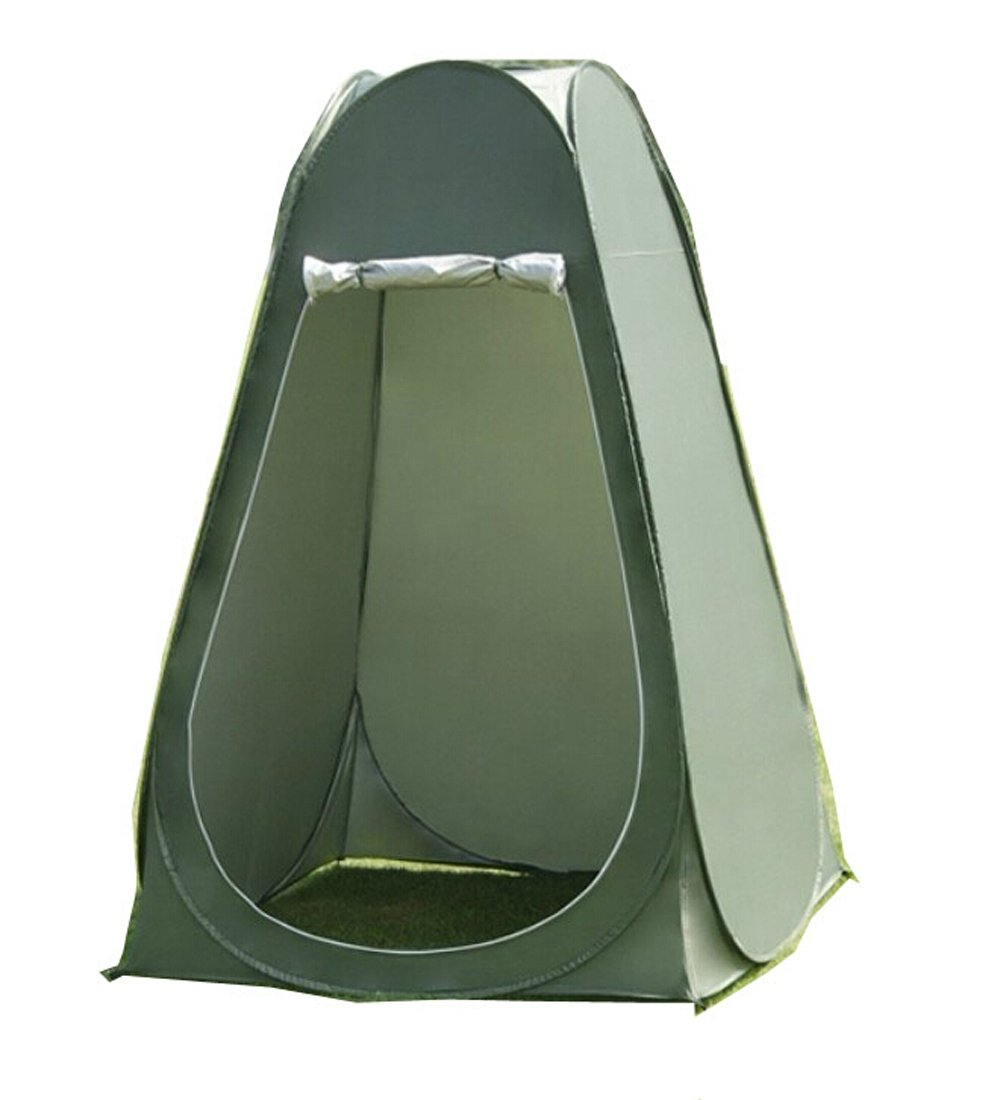 Amazon.com  Faswin Pop Up Pod Toilet Tent Privacy Shelter Tent C&ing Shower Potable Outdoor Changing Room Dark Green  Sports u0026 Outdoors  sc 1 st  Amazon.com & Amazon.com : Faswin Pop Up Pod Toilet Tent Privacy Shelter Tent ...