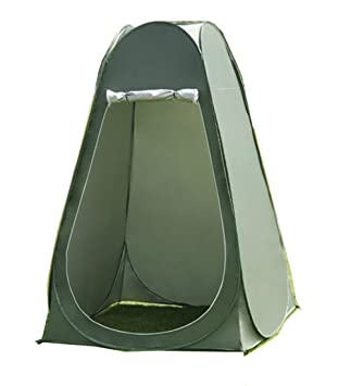 Faswin Pop Up Pod Toilet Tent Privacy Shelter Tent C&ing Shower Potable Outdoor Changing Room Dark  sc 1 st  Amazon.com & Amazon.com : Faswin Pop Up Pod Toilet Tent Privacy Shelter Tent ...