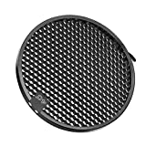 uxcell 40 Degree Honeycomb Grid Black for 7-inch Reflector Diffuser Lamp Shade Dish