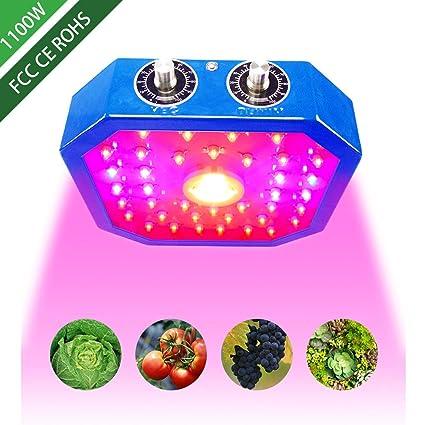Amazon.com: eovmosa - Luz LED para cultivo de plantas de ...