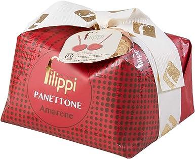 Panettone all`amarena filippi 1kg B01MQE37GD