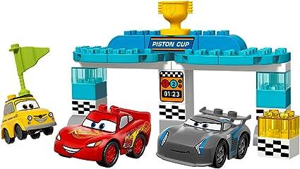 Amazon Com Lego Duplo Piston Cup Race 10857 Building Kit 31 Pieces Toys Games