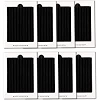 SULING Paquete de 8 filtros de aire de repuesto para refrigerador activados por carbono, compatibles con Frigidaire PureAir Ultra,PAULTRA,Electrolux EAFCBF,SCPUREAIR2PK, 242047801, 242061001, 7241754001