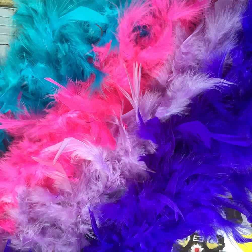 oobest Feather Boas Party Dressup Costume Accessori Women Girls Dress up Boa per la decorazione fai da te