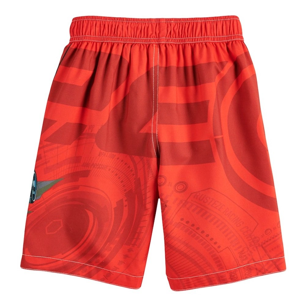 Cars Lightning McQueen Disney Boy Swim Trunks Shorts 4