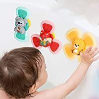 Can Rotate The Feeding Artifact, take a Bath for Toddlers with Suckers and Spinners, and Rotate The Baby Rattle Toy at…