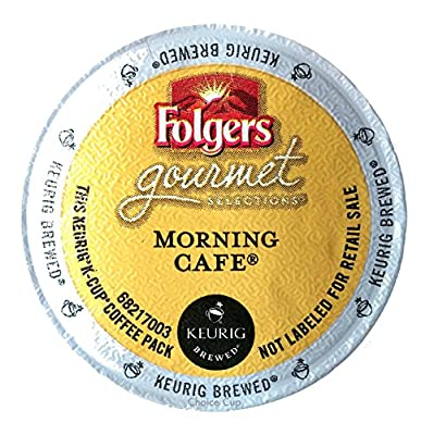 Folgers Morning Cafe K-Cup for Keurig Brewers, 96 Count