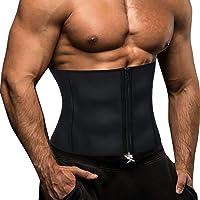 Gotoly Taille Trainer voor Mannen Zweet Sauna Pak Afslanken Trimmer Riem Neopreen Workout Body Shaper Maag Corset…