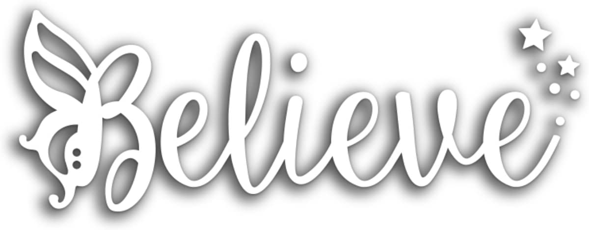 Believe Fairy Bumper Sticker/Laptop Decal