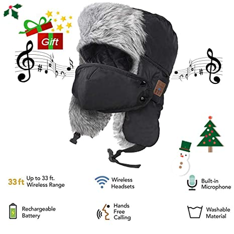 6a688159a9044 Amazon.com   Wireless Bluetooth Hunting Hat