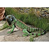 Cheap Design Toscano QL56991 Iggy The Iguana Garden Statue, Large, Full Color