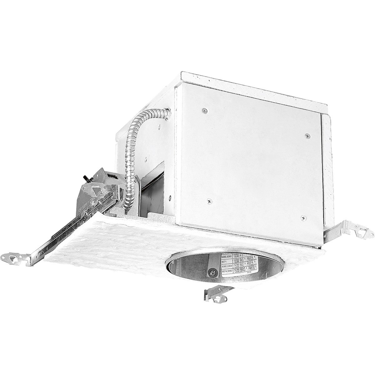 Progress Lighting P821-FB Recessed Housing Non-Ic Fire Rated Floor//Ceiling Assembly