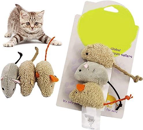 TankMR - Colgante de Peluche con Forma de ratón, Ratones y Gatos, Juguete Interactivo para Masticar, Gatos: Amazon.es: Productos para mascotas