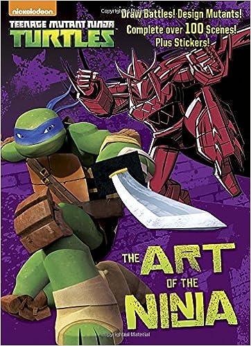 The Art of the Ninja Teenage Mutant Ninja Turtles Doodle ...