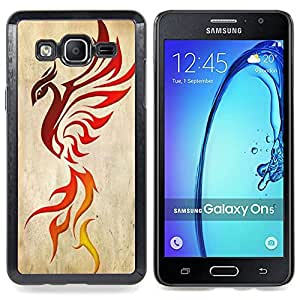 "Planetar ( Primavera Naturaleza Minimalista Blanca Lápiz"" ) Samsung Galaxy On5 O5 Fundas Cover Cubre Hard Case Cover"
