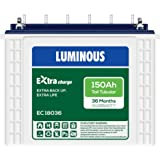 Luminous ExtraCharge EC18036 150Ah Tall Tubular Battery