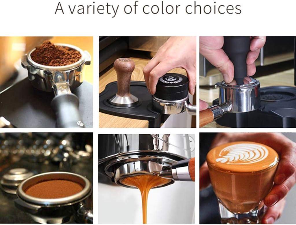 Holz-Kaffee-Griff f/ür Breville 870//878//880 Kaffeemaschine Ersatz-Kaffeefilter WuLi77 54 mm Kaffeefilter ohne Boden