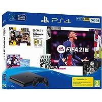 PlayStation 4 500GB HDD + DUALSHOCK4 draadloze controller + FIFA21 op Blu-ray Disc (PS4)