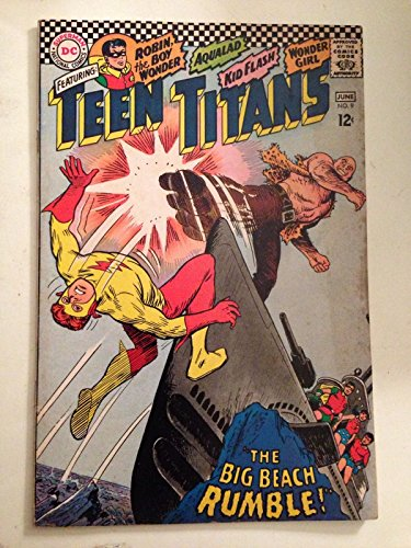 Teen Titans #9/Silver Age DC Comic Book/Kid Flash Robin Wonder Girl/VG-FN