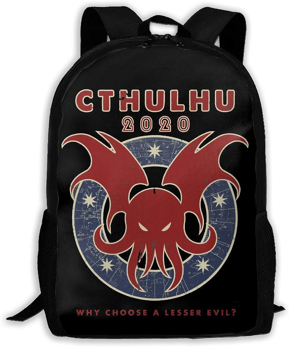 Betty Doddedf Cthu-lhu 2020 3D Print Laptop Backpack Travel Computer Bag Shoulder Bags For Men/Women