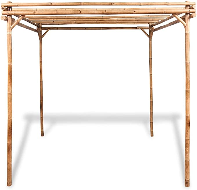 Festnight Pérgola de Jardín de bambú (Arca de Jardín 195 x 195 x 195 cm: Amazon.es: Hogar