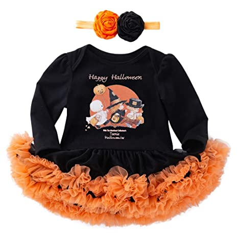 Vestidos Para BebéS NiñA Halloween VíSpera De Todos Los ...