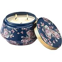 La Jolíe Muse Bougie Parfumée Coffret Cadeau Boîte Céramique Groose Bougie 455g en Cire Naturelle Bamboo Bigarade 3 Mèche pour Maison Décor Fête Noël Cadeau