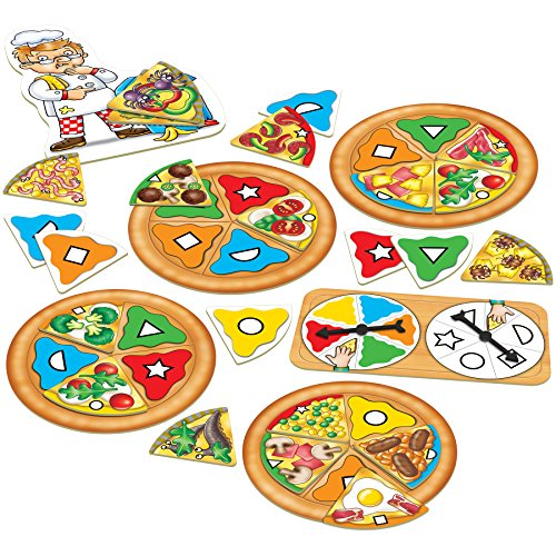 Orchard Toys Pizza, Pizza - Fun and Educational Colour and Shape Game - Perfect for Home Learning, Multi