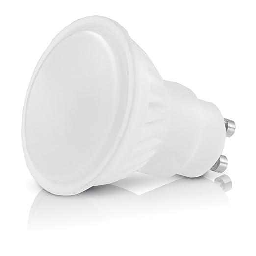 Juego de bombillas LED GU10, 10 W, recambio de 90 W, color blanco