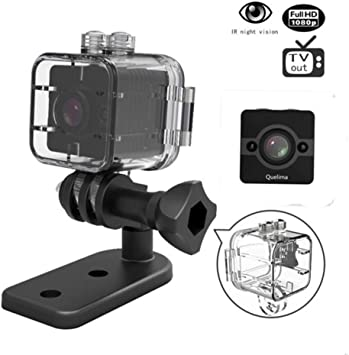 Mini DVR Sports Cam, sq12 Agua Densidad 155 amplio Full HD 1080p ...