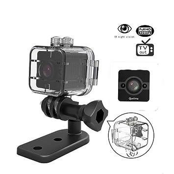 Mini DVR Sports Cam, sq12 Agua Densidad 155 amplio Full HD 1080p cámara de acción