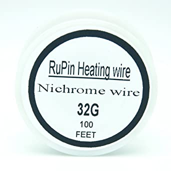 Generic 100 FT Nichrome A1 Typ Widerstand Draht 32/30/27/28/26/24/22 ...