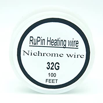 Amazon generic 100ft 22 32 awg gauge nichrome wire resistance generic 100ft 22 32 awg gauge nichrome wire resistance wire a1 round wire resistor 100 greentooth Image collections