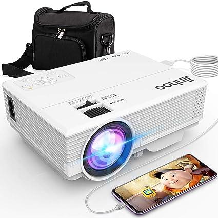 Amazon.com: Jinhoo - Proyector de última tecnología para ...
