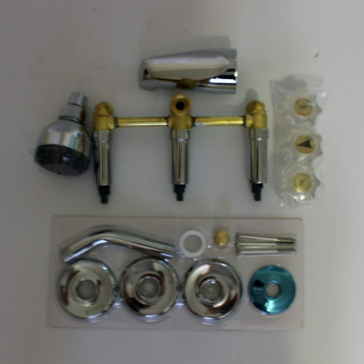 Glacier Bay 834x 0001 Aragon 3 Handle 1 Spray Water Sense Tub And